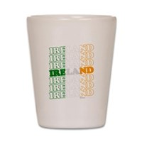 Ireland Flag Shot Glass