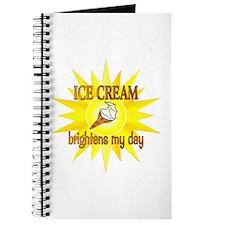Ice Cream Brightens Journal