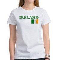 Ireland Flag Women's T-Shirt