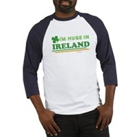 Im Huge In Ireland Baseball Jersey