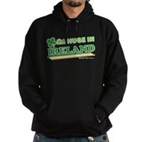 Im Huge In Ireland Hoodie (dark)