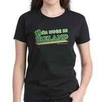 Im Huge In Ireland Women's Dark T-Shirt
