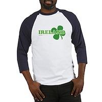 Ireland Lucky Clover Baseball Jersey