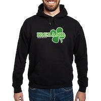 Ireland Lucky Clover Hoodie (dark)