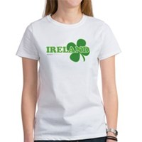 Ireland Lucky Clover Women's T-Shirt