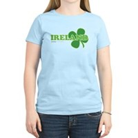 Ireland Lucky Clover Women's Light T-Shirt