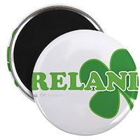 Ireland Lucky Clover Magnet