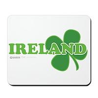 Ireland Lucky Clover Mousepad