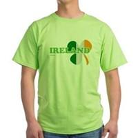 Ireland Clover Flag Green T-Shirt