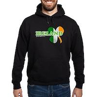 Ireland Clover Flag Hoodie (dark)