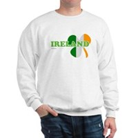 Ireland Clover Flag Sweatshirt