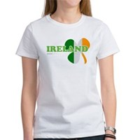 Ireland Clover Flag Women's T-Shirt