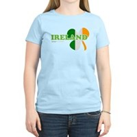 Ireland Clover Flag Women's Light T-Shirt