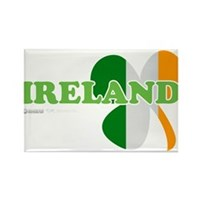 Ireland Clover Flag Rectangle Magnet