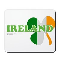 Ireland Clover Flag Mousepad