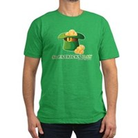 St Patrick's Day Hat Men's Fitted T-Shirt (dark)