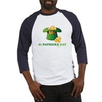 St Patrick's Day Hat Baseball Jersey