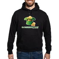 St Patrick's Day Hat Hoodie (dark)