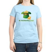 St Patrick's Day Hat Women's Light T-Shirt