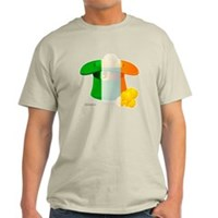 Irish Hat Flag Colors Light T-Shirt