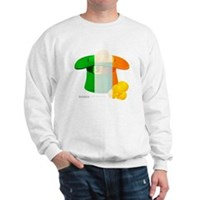 Irish Hat Flag Colors Sweatshirt