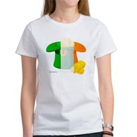 Irish Hat Flag Colors Women's T-Shirt