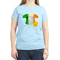 Irish Hat Flag Colors Women's Light T-Shirt