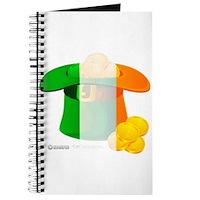Irish Hat Flag Colors Journal