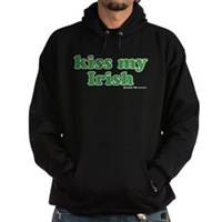 Kiss My Irish Hoodie (dark)