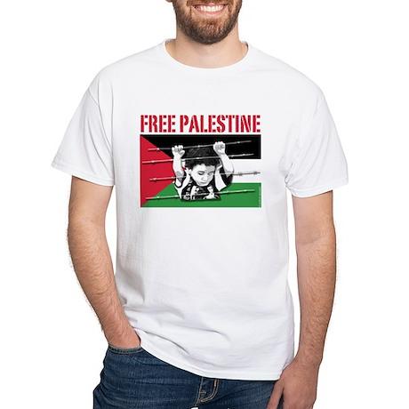 free palestine BLACK T-Shirt