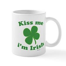 Kiss Me Im Irish Lucky Clover Small Mug