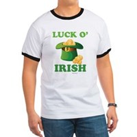 Luck o' Irish Ringer T
