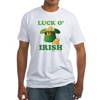 Luck o' Irish Fitted T-Shirt