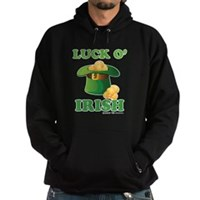 Luck o' Irish Hoodie (dark)
