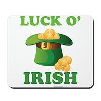 Luck o' Irish Mousepad