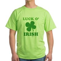 Luck O' Irish Clover Green T-Shirt
