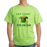 Get Lucky Im Irish Green T-Shirt