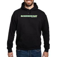 Green St Patrick's Day Hoodie (dark)