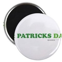 Green St Patrick's Day Magnet