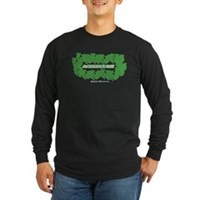 St Patrick's Day Reef Long Sleeve Dark T-Shirt