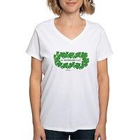 St Patrick's Day Reef Women's V-Neck T-Shirt