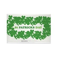St Patrick's Day Reef Rectangle Magnet