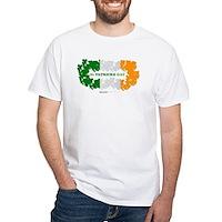 St Patrick's Day Reef Flag White T-Shirt