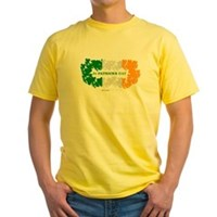 St Patrick's Day Reef Flag Yellow T-Shirt