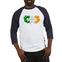 St Patrick's Day Reef Flag Baseball Jersey