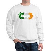 St Patrick's Day Reef Flag Sweatshirt