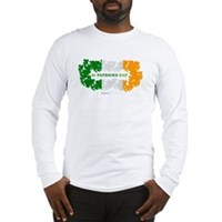 St Patrick's Day Reef Flag Long Sleeve T-Shirt