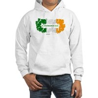 St Patrick's Day Reef Flag Hooded Sweatshirt