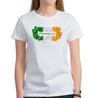 St Patrick's Day Reef Flag Women's T-Shirt
