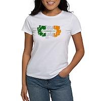 St Patrick's Day Reef Flag Women's T-Shirt